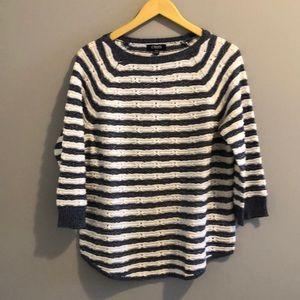 CHAPS Denim Striped Sweater (XL)